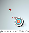 A bow and arrow 10204309