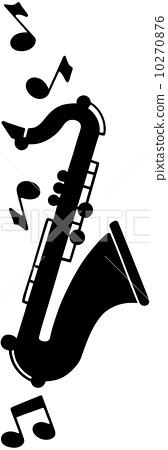 Saxophone Motif 10270876