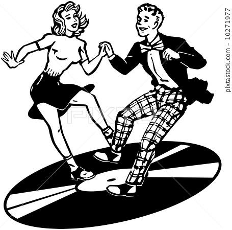 Retro Dancers 10271977