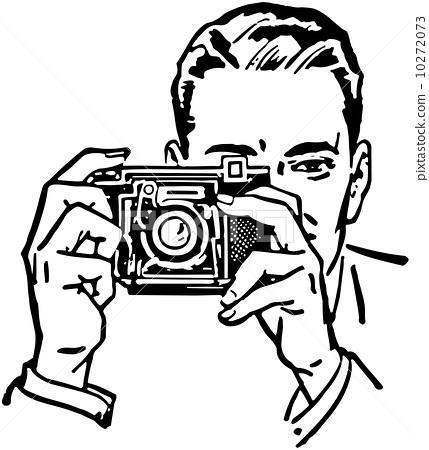 Man With Camera 10272073