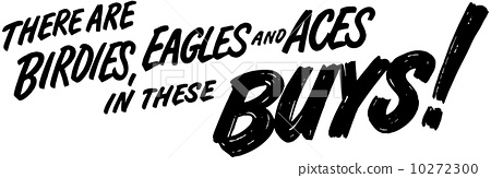There Are Birdies And Eagles 10272300