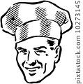 復古 廚師 藝術品 10273145