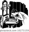 Woman Washing Face 10273159