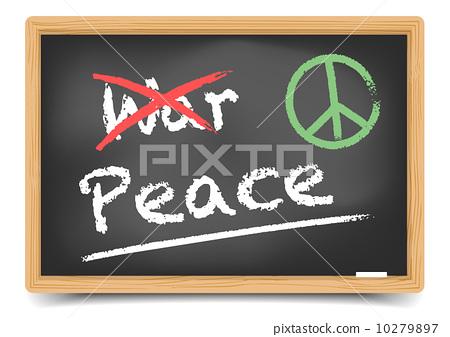Blackboard War or Peace 10279897
