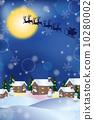 背景 矢量圖 聖誕時節 10280002