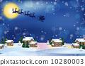 背景 矢量圖 聖誕時節 10280003