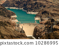 Aerial View Hoover Dam 10286995