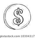 stack, bundle, dollar 10304317