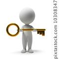 小 鑰匙 鎖 10308347