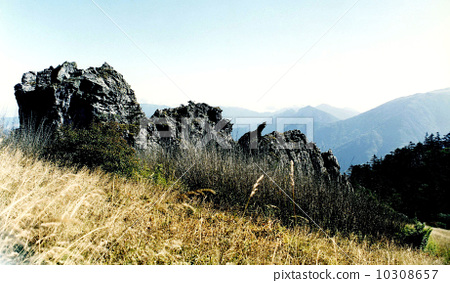 中国湖北神农架---板壁岩景区---高山荒漠 10308657