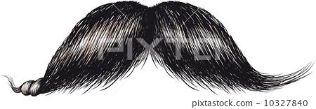 gentlemans mustache 10327840