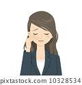 哭泣的臉龐 流淚的臉龐 女人 10328534