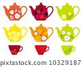 tea, pot, mug 10329187