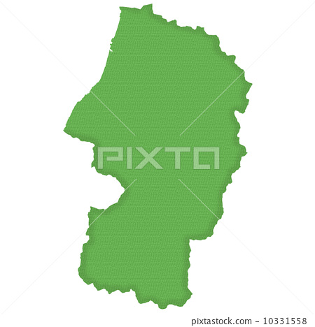 Yamagata Prefecture Map 10331558