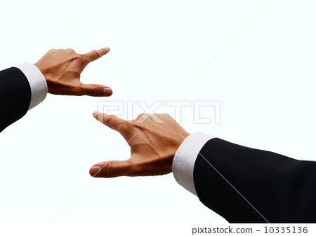 pointing, business man, presentation 10335136