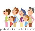 仰視 家族 家庭 10335517