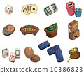 cartoon casino icon 10386823