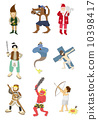 cartoon story people icon 10398417