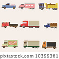 vector, van, truck 10399361