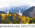 城堡 巴伐利亞 秋天 10417710