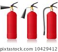 灭火器 安全 红色 10429412