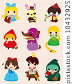 cartoon story people icon 10432925