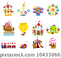 cartoon playground icon 10433066