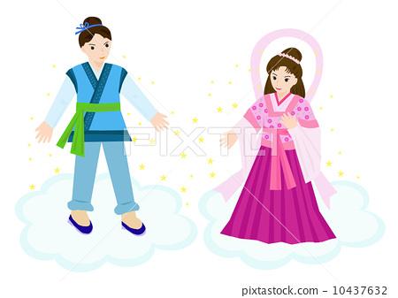 Tanabata / Orihime and Hikarin 10437632