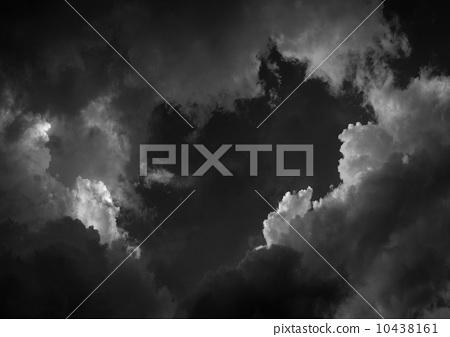 cloudy dark sky 10438161