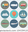 transport, illustration, icon 10439410