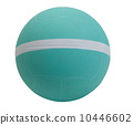 Nice dodgeball with white strip the sport utility ball tool 10446602