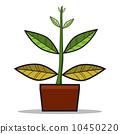 Abstract tree, Vector Illustration. 10450220