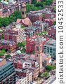 downtown, skyline, boston 10452533