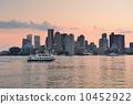 dusk, downtown, skyline 10452922