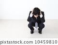 นักธุรกิจที่มีปัญหากับหัวของเธอ 10459810