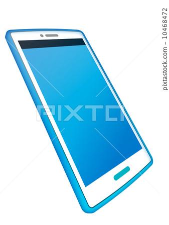 Smartphone white back 10468472