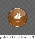 Sea wood  application icons vector illustration 10473828