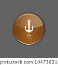 Sea wood  application icons vector illustration 10473831