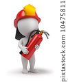 small, fireman, fire 10475811