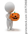 3d small people - Halloween 10475968
