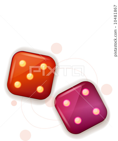 The view of dice 10481867