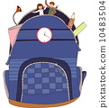 The view of backpack 10483504