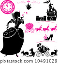 cinderella, princess, royal 10491029