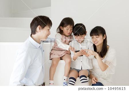 Family noisy staircase 10495615