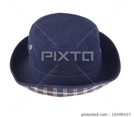 Beautiful hat for your outdoor activity  isolated 10496427