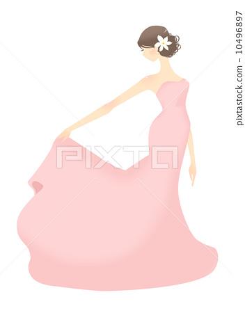 Dress women / pink 10496897