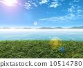바다, 맑은 하늘, 청천 10514780