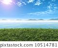바다, 맑은 하늘, 배경 10514781