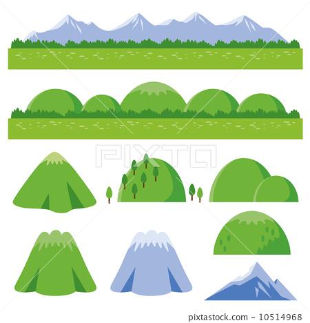 Mountain illustration collection 10514968