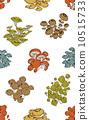 蘑菇 无缝的 包装纸 10515733